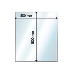 Golvglas 1000x850, rektangel